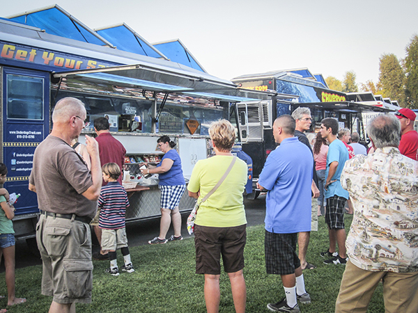 Valley Center Food Truck Festival A Photographer S View